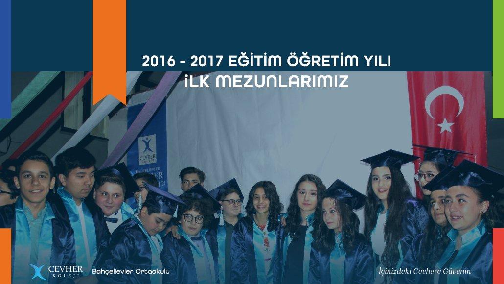 2016 - 2017 Eğitim Öğretim Yılı İlk Mezunlarımız